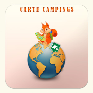 carte campings Hautes-alpes